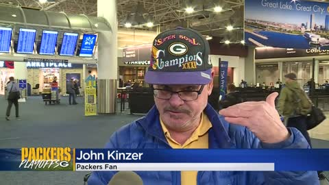 Packers fans fly to California to catch Sunday's NFC championship...