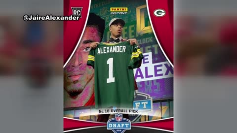 Packers select Louisville CB Jaire Alexander with 18th pick