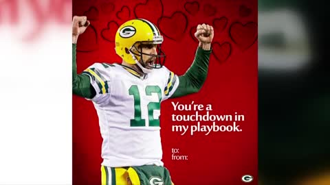 Packers create Valentine's Day cards for the football fan in your life