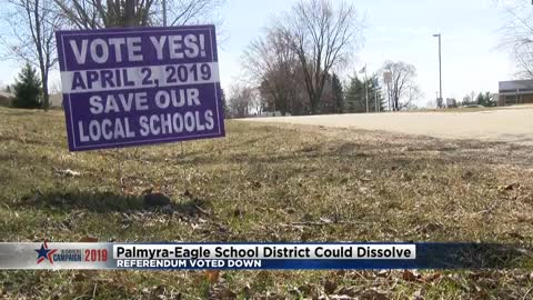 Future for Palmyra-Eagle Area School District uncertain after referendum voted down