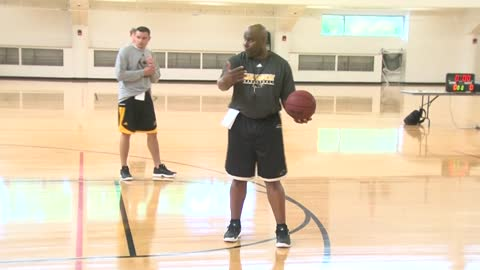 One on one with Pat Baldwin, the new head coach of Milwaukee Panthers