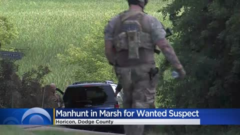 UPDATE: Police arrest suspect wanted in manhunt near Horicon