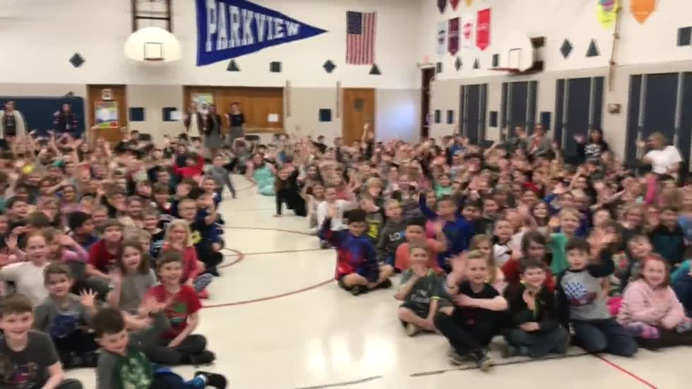 Parkview Elementary School in Cedarburg