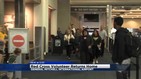 Red Cross volunteer returns after spending three weeks helping hurricane victims in Texas