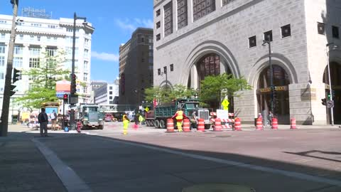 Pavement resurfacing set for Monday and Tuesday along Wisconsin Ave.