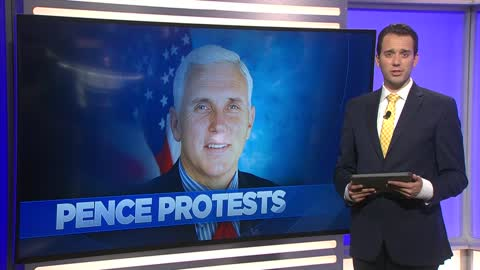 Healthcare experts and patients challenge VP Mike Pence on health care during his Milwaukee visit