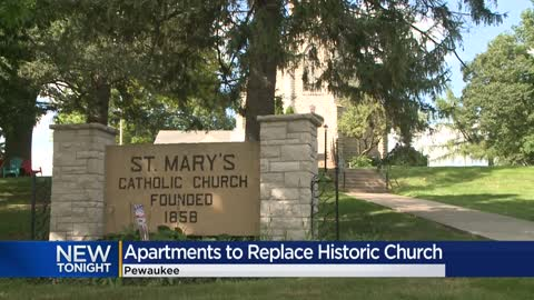 A Pewaukee church built in 1858 will hold its last service this...
