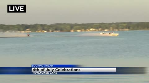 Pewaukee Lake Water Ski Club prepares for July 4th show