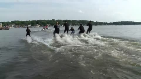 Water Ski Club takes over Pewaukee Lake