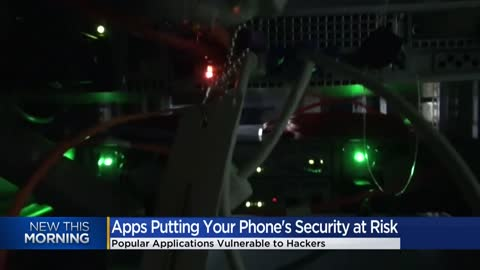 Researchers find security flaws in phone apps, encourage people...
