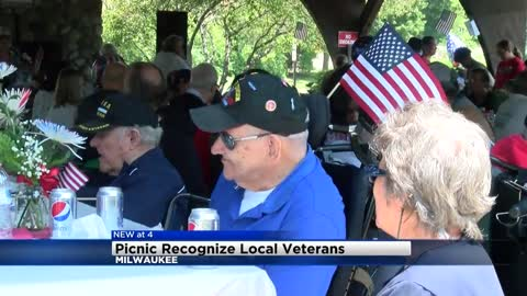 Veterans gather for 4th of July picnic