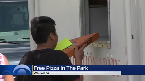 Salvation Army hosts end of summer pizza party for children in...