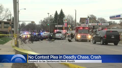 Man pleads no contest in deadly chase, crash at 13th and Morgan