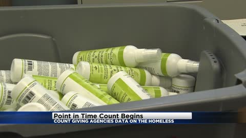 'Point in Time' count begins, collects data to help combat...