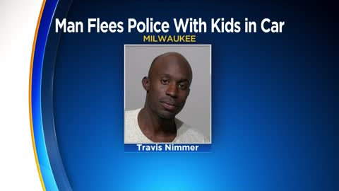 Milwaukee man charged following high-speed chase, 2 children in car
