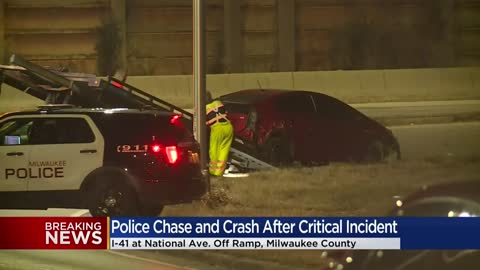 2 arrested following critical incident, chase with police