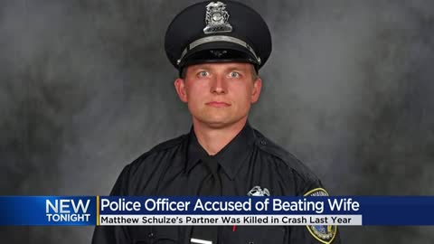 Partner of fallen Milwaukee police officer faces charges of domestic...