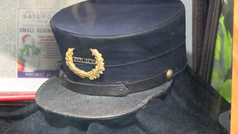 Stolen police hat returned to Hartford Police Station