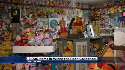 Waukesha woman with massive Winnie the Pooh collection to be featured on Collector's Call