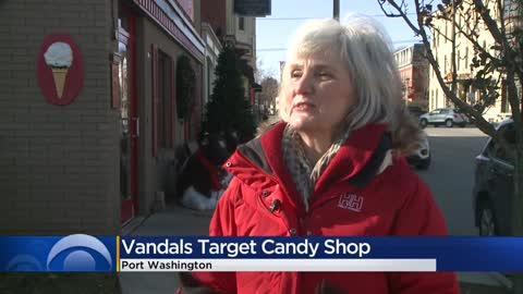 Holiday decorations at Port Washington chocolate shop vandalized;...