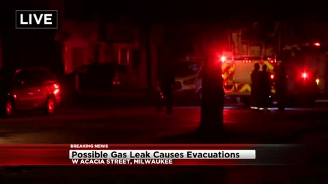 Driver crashes into home, neighbors evacuated due to possible gas leak