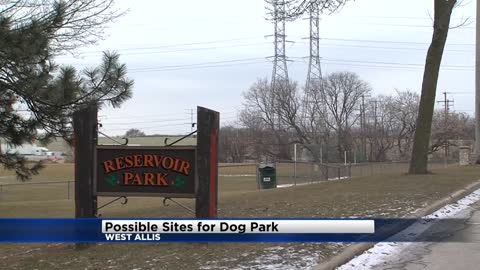 West Allis looking at two possible sites for dog park