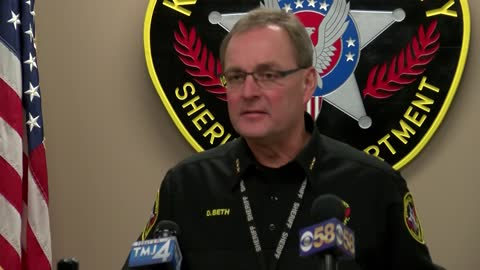Kenosha County Sheriff apologizing for comments made during news conference