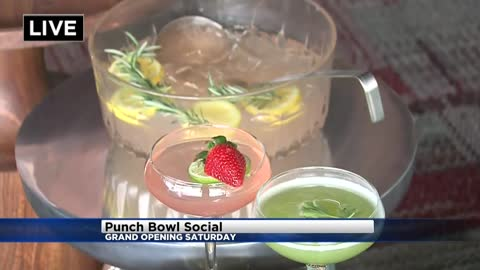 """Punch Bowl Social"" will be a new ""eatertainment"" venue in the Bucks Entertainment District"