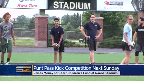 Starr Children's Fund Punt Pass Kick Competition coming to Milwaukee