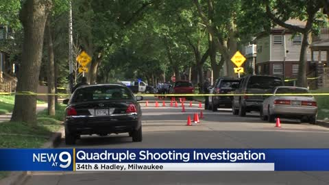 Arrest made in quadruple shooting near 34th and Hadley