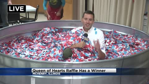 Winner drawn in $7M Queen of Hearts raffle in northern Illinois