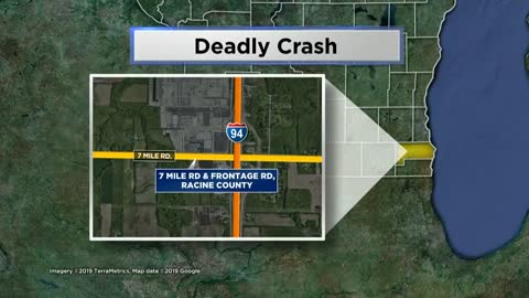 One person killed after crashing into construction crane near Caledonia