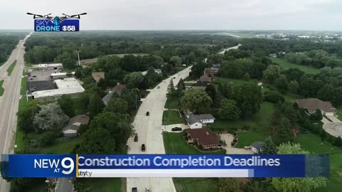 DOT waives $400,000 in contractor late fees on Racine Co