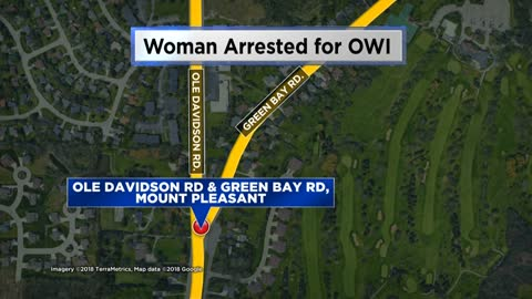 Racine woman arrested for OWI with 5-year-old child in car