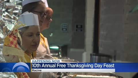Racine business owners hold 10th annual free Thanksgiving feast