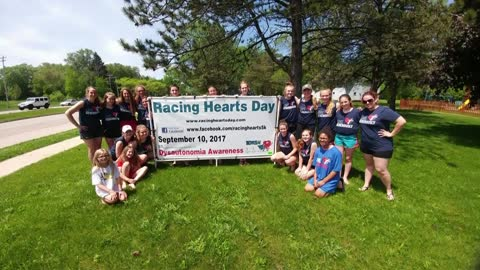 Racing Hearts 5K for  Dysautonomia awareness is Sunday, September 10th at Kettle Moraine Lutheran High School