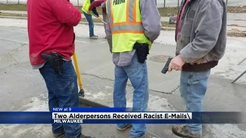 Two Milwaukee Alderpersons receive racist emails following controversy over contractors with guns photo