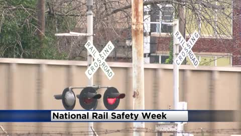 Wisconsin officials give safety tips during National Rail Safety Week