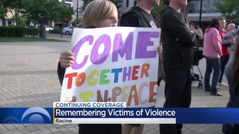 Racine community rallies for peace, remembers recent victims of violence