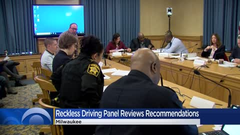 Reckless driving task force reviews community recommendations