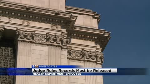 CBS 58 Investigates: Judge rules records must be released of health department employee