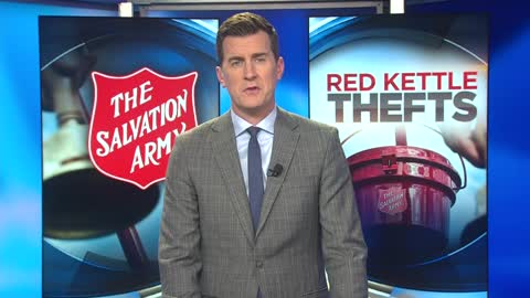 Salvation Army Red Kettle stolen from Pick 'n Save on Good Hope Road