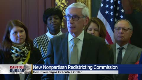 Evers' executive order establishes nonpartisan redistricting...