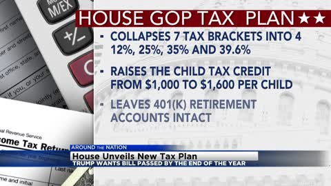 What to know about new Republican tax bill