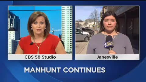 Residents React to Manhunt in Janesville