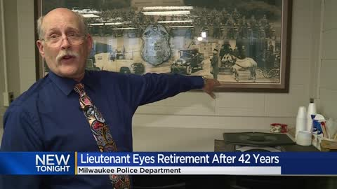Milwaukee Lieutenant eyes retirement after 42 years
