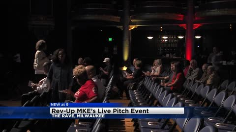 Rev-Up MKE Live Pitch event held at The Rave