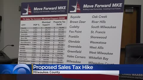 Milwaukee leaders propose increase in sales tax