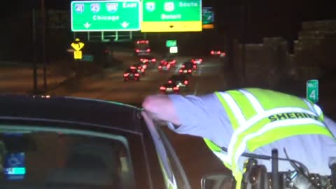 Ride Along: Milwaukee Co. Sheriff cracks down on zoo interchange speeders