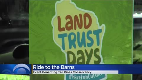 'Ride To The Barns' cycling event supports land, water conservation